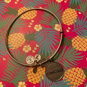 Alex and Ani University of Miami Bracelet